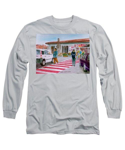 Bar Ristorante Mt. Etna Sicily Long Sleeve T-Shirt