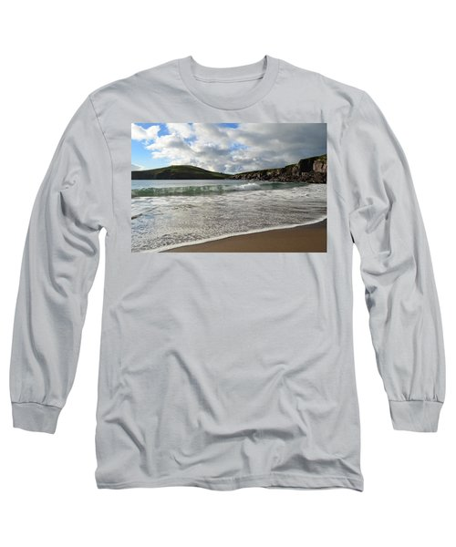 Beebane Beach Long Sleeve T-Shirt by Barbara Walsh
