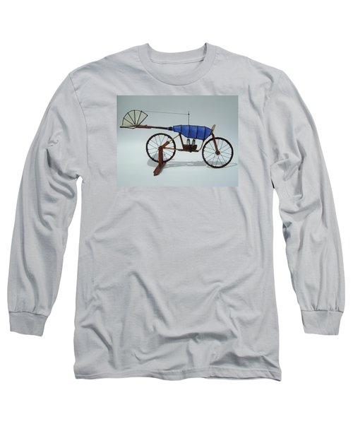 Blue Caravan Long Sleeve T-Shirt
