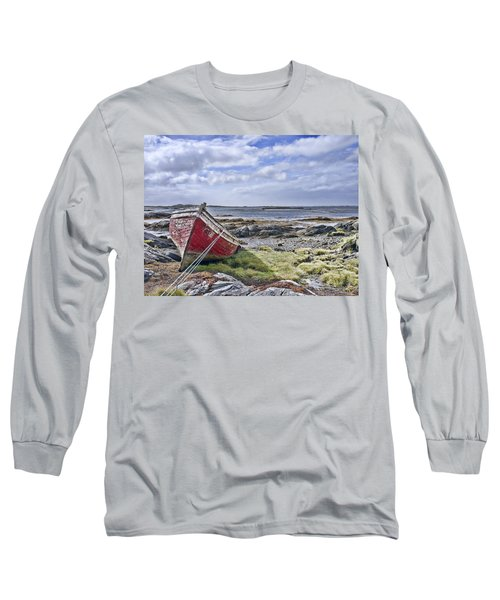 Long Sleeve T-Shirt featuring the photograph Boat by Hugh Smith