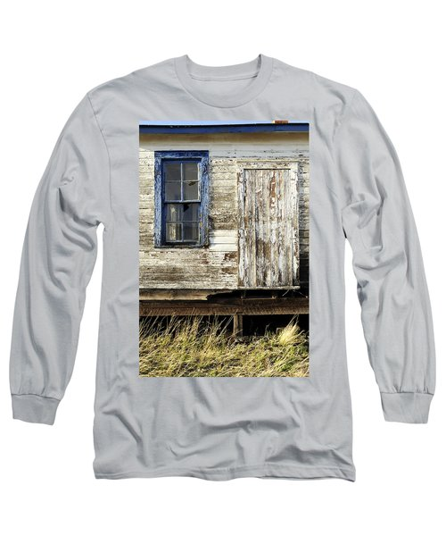 Long Sleeve T-Shirt featuring the photograph Broken Window by Fran Riley