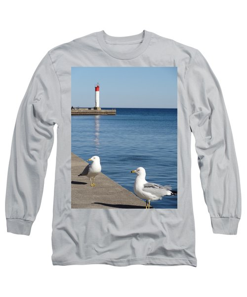 Bronte Lighthouse Gulls Long Sleeve T-Shirt