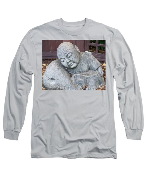 Long Sleeve T-Shirt featuring the photograph Buddha by Chalet Roome-Rigdon