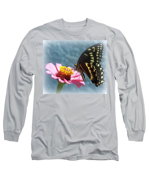 Long Sleeve T-Shirt featuring the photograph Butterfly by Cynthia Amaral