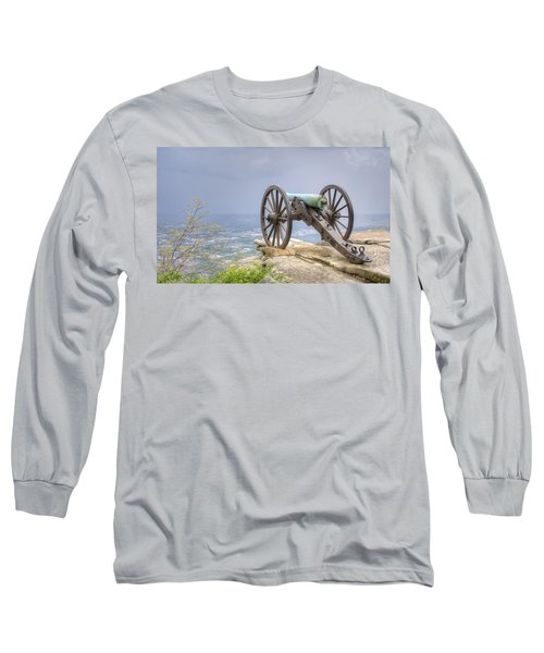 Cannon 2 Long Sleeve T-Shirt by David Troxel