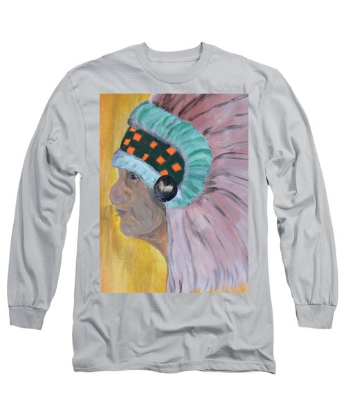 Chief Long Sleeve T-Shirt by Maria Urso