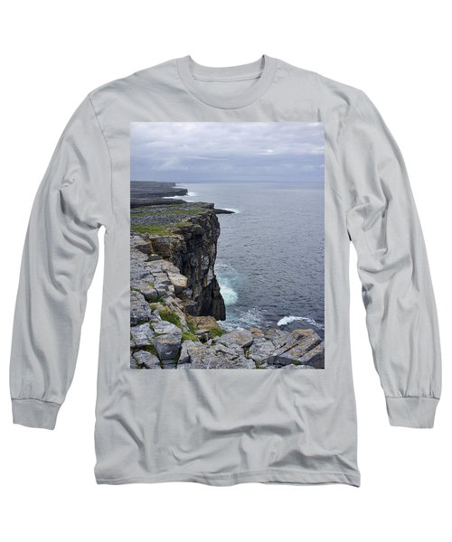 Long Sleeve T-Shirt featuring the photograph Cliffs Of Inishmore by Hugh Smith