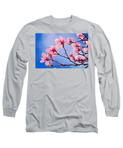 Cherry Blossums Long Sleeve T-Shirt