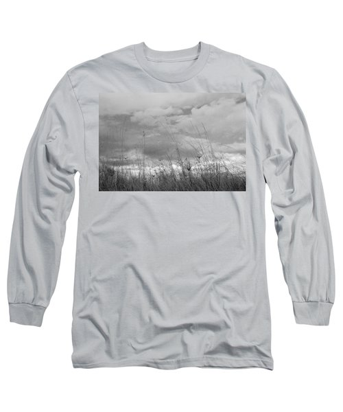 Long Sleeve T-Shirt featuring the photograph Cloud Watching by Kathleen Grace