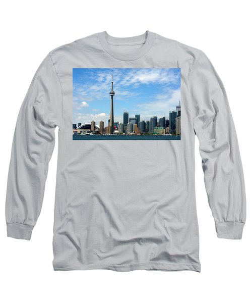 Cn Tower Long Sleeve T-Shirt