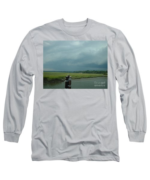 Coming On  Long Sleeve T-Shirt by Mark Robbins