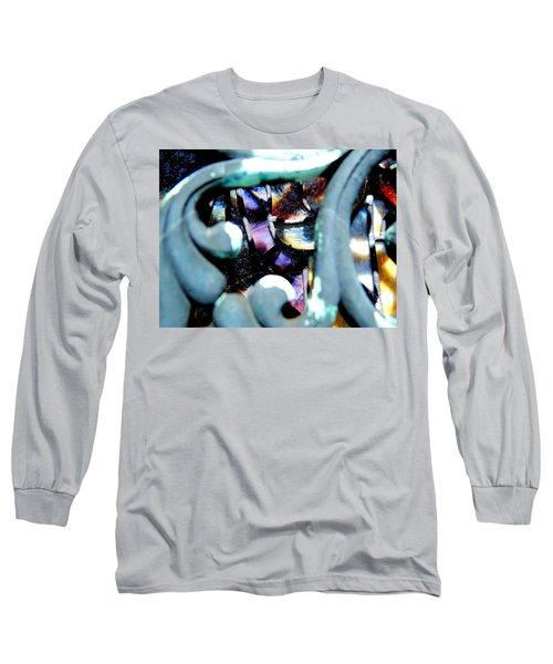Contrasting Detail Long Sleeve T-Shirt by Lisa Brandel
