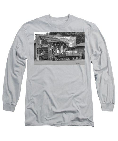 Corner Gas Station Long Sleeve T-Shirt