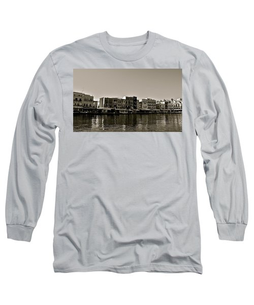 Long Sleeve T-Shirt featuring the photograph Crete Reflected by Eric Tressler