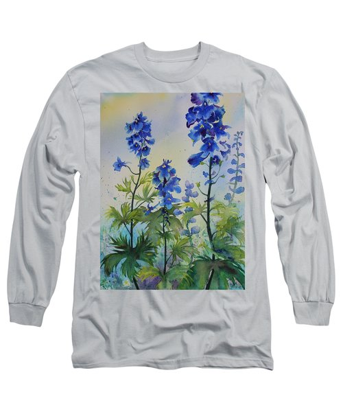 Delphiniums Long Sleeve T-Shirt