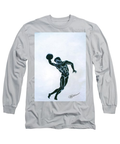 Disc Thrower Long Sleeve T-Shirt