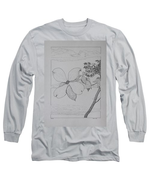 Dogwood  Long Sleeve T-Shirt by Daniel Reed