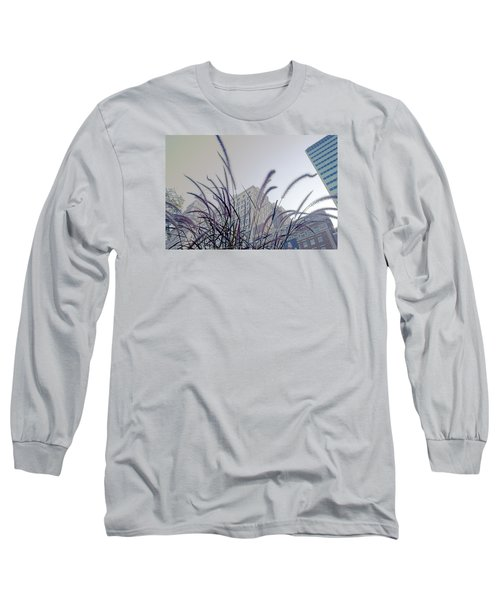 Long Sleeve T-Shirt featuring the photograph Dreamy City by Milena Ilieva