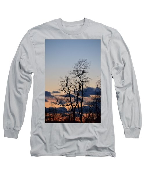 Dusk Long Sleeve T-Shirt by Bonnie Myszka