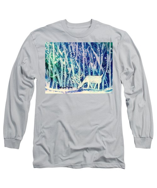 Enchanted Winter Forest Long Sleeve T-Shirt