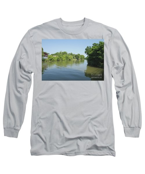 Long Sleeve T-Shirt featuring the photograph Erie Canal by William Norton