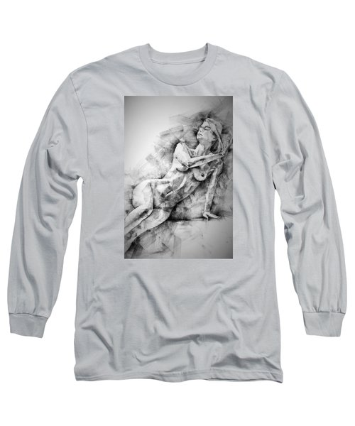Erotic Sketchbook Page 2 Long Sleeve T-Shirt