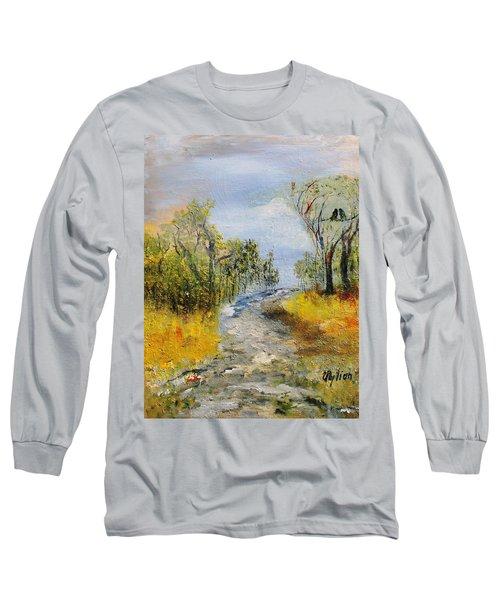 Evening Romance Long Sleeve T-Shirt by Evelina Popilian
