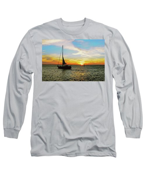 Evening Sailing Long Sleeve T-Shirt
