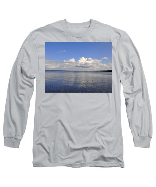 Long Sleeve T-Shirt featuring the photograph Floridian View by Sarah McKoy