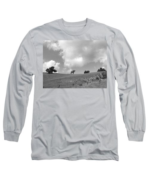 Long Sleeve T-Shirt featuring the photograph Four On The Hill by Kathleen Grace