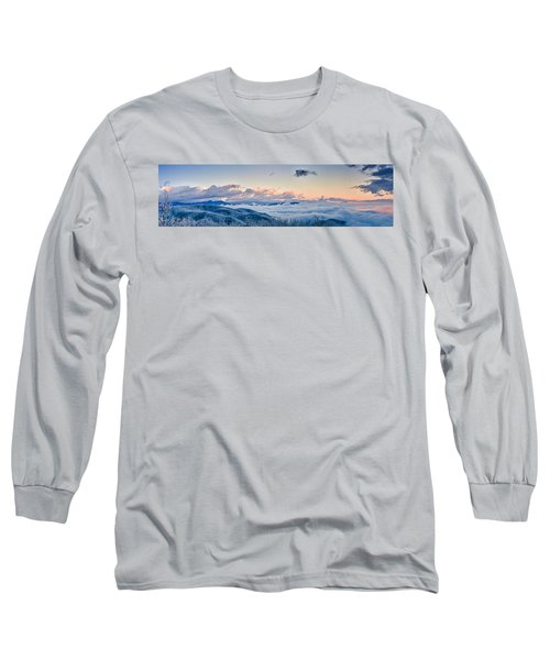 Long Sleeve T-Shirt featuring the photograph Frosty Morning by Joye Ardyn Durham
