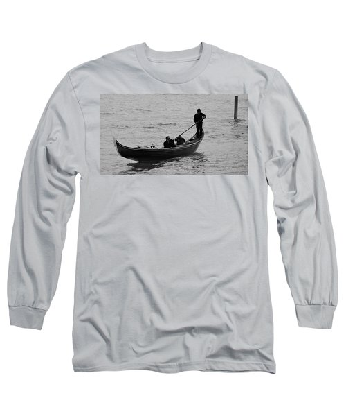Long Sleeve T-Shirt featuring the photograph Gondola  by Eric Tressler