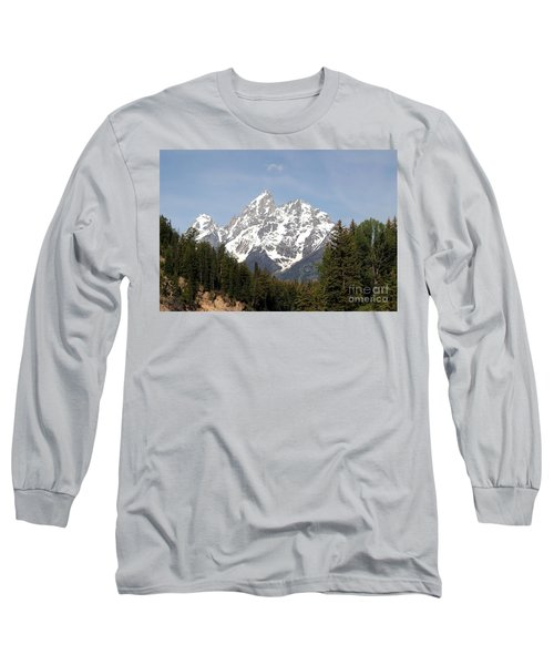 Grand Tetons Long Sleeve T-Shirt by Living Color Photography Lorraine Lynch