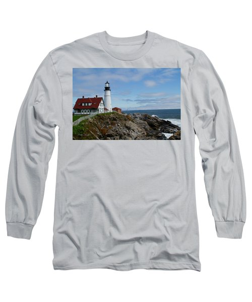 Guarding Ship Safety Long Sleeve T-Shirt