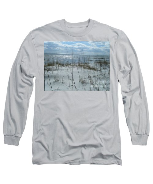 Long Sleeve T-Shirt featuring the photograph Gulf Coasting  by Janice Spivey