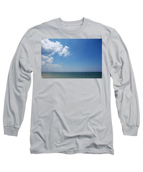 Gulf Sky Long Sleeve T-Shirt by Kay Lovingood