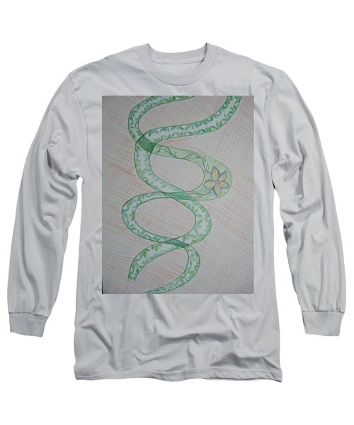 Long Sleeve T-Shirt featuring the painting Helix  by Sonali Gangane