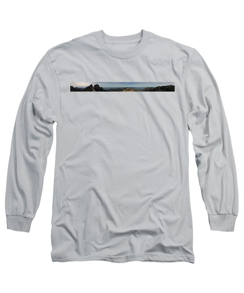 Huangshan Morning Panorama 1 Long Sleeve T-Shirt