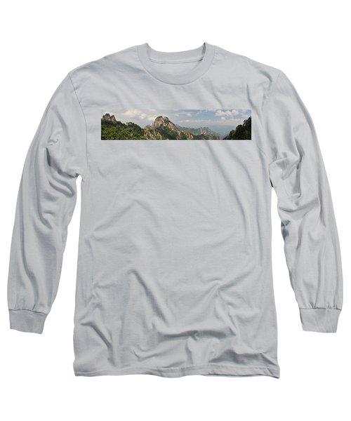 Huangshan Panorama 2 Long Sleeve T-Shirt