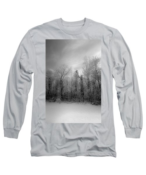 Impressionist Snow Long Sleeve T-Shirt