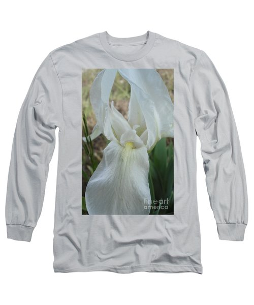 Long Sleeve T-Shirt featuring the photograph Iris Angel by Kerri Mortenson