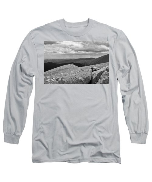 Long Sleeve T-Shirt featuring the photograph It's Raining In The Distance by David Pantuso