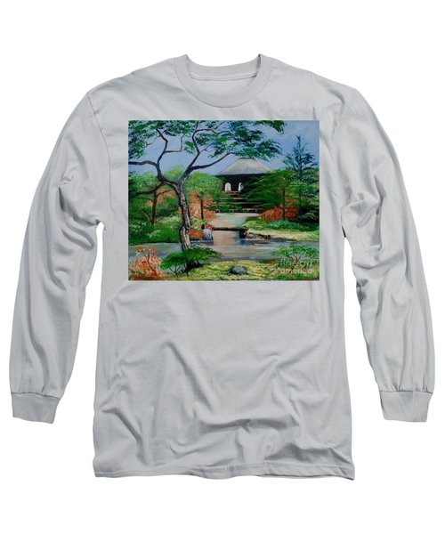 Jardin Japonais  Long Sleeve T-Shirt