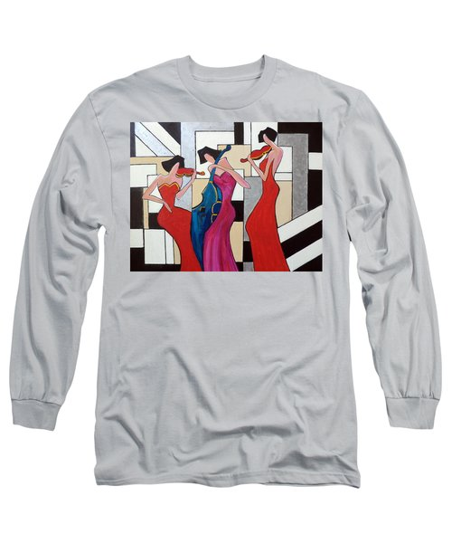 Lady Musicians Long Sleeve T-Shirt