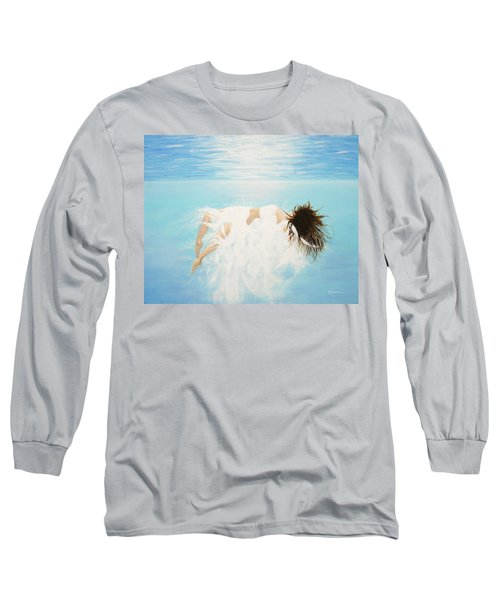 Lady Of The Water Long Sleeve T-Shirt by Kume Bryant