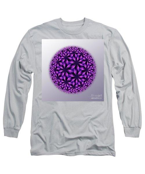 Last Dream Mandala Long Sleeve T-Shirt by Danuta Bennett