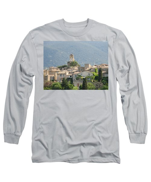 Lourmarin In Provence Long Sleeve T-Shirt by Carla Parris