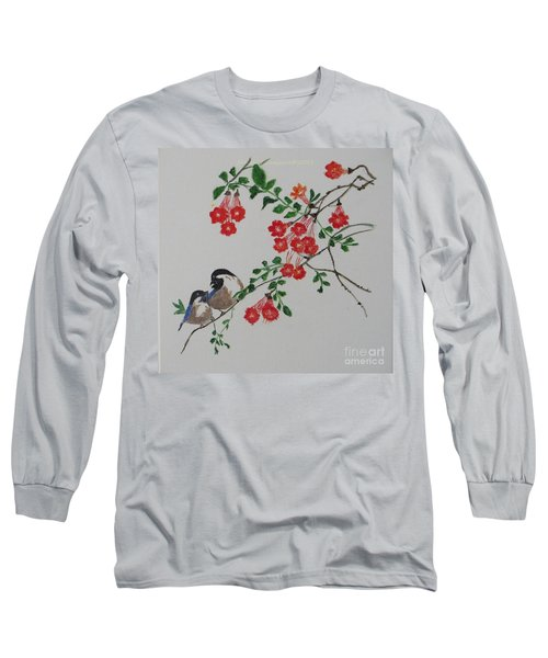 Long Sleeve T-Shirt featuring the painting Love by Sonali Gangane