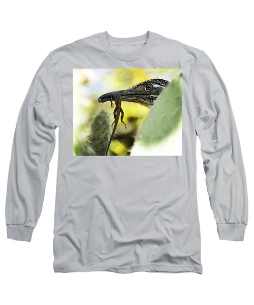 Lunch With A Roadrunner  Long Sleeve T-Shirt