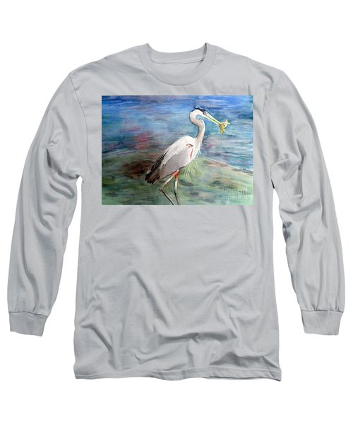 Lunchtime Watercolour Long Sleeve T-Shirt